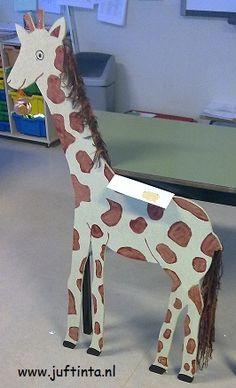 Surprise giraf knutselen