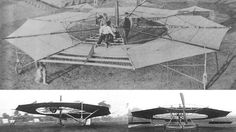 The Umbrella Plane or the McCormick-Romme plane, 1911