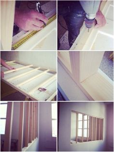 Verrière atelier pas cher diy Plus Do It Yourself Inspiration, Diy Décoration, Glass Roof, Interior Exterior, Home Living, My New Room, Home Staging, Diy Furniture, Diy Home Decor