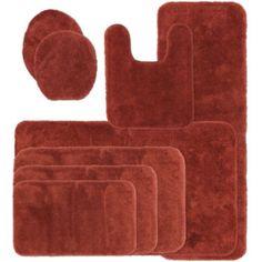 In Perfect Aqua Bathroom Decor Ideas Pinterest Bath Rugs And - Rust bathroom rugs for bathroom decorating ideas