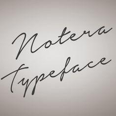 Notera Font | dafont.com