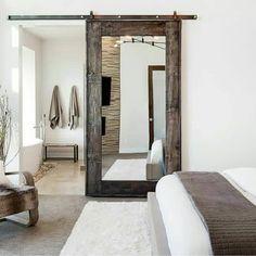 Brilliant with the mirrored door Lovely bedroom #bedrooms #bedroomdesign #bedroomdecor #soverom #interior_delux