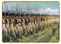 infanterie française à Waterloo- 1er corps Drouet-D'ERLON Waterloo 1815, Battle Of Waterloo, Military Art, Military History, Napoleon French, Bataille De Waterloo, First French Empire, Crusader Knight, Hundred Days