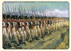 infanterie française à Waterloo- 1er corps Drouet-D'ERLON
