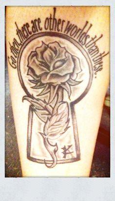 Tattoo inspired by The Gunslinger (The Dark Tower # 1), written by Stephen King