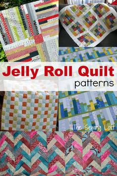 Free jelly roll quilt patterns..