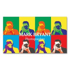 Shop Striking Pop Art Camera Photographer Business Card created by dadphotography. Photographer Business Cards, Photography Business, Camera Lens, Amazing Photography, Winnie The Pooh, Pop Art, Photographers, Disney Characters, Fictional Characters