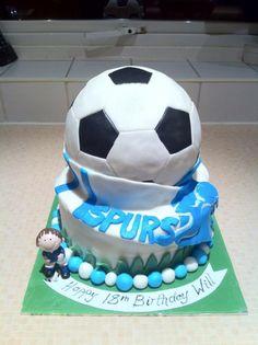 Spur's Football Cake