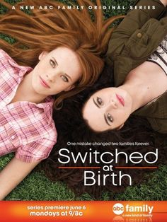 """Interview with Sean Berdy, Star of ABC Family's """"Switched at Birth"""" Abc Family, Family Show, Family Movies, Katie Leclerc, Sean Berdy, Disney Channel, Switched At Birth, Vanessa Marano, Movies And Series"""