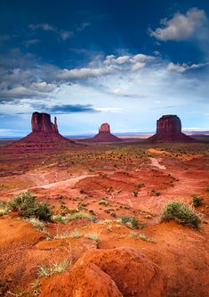 The Mittens, Monument Valley, Arizona/Utah; photo by Michael Greene