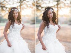 Wedding Hair Down with Headband   Elizabeth Henson Photos