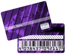 Plastic card printing - membership cards, loyalty / discount cards, ID cards