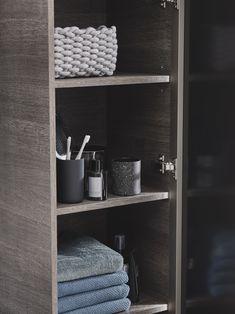 All bathroom series of Geberit Bathroom Storage, Small Bathroom, Bathroom Ideas, Smart Storage, Hidden Storage, Relaxing Bathroom, Pallet Storage, Bathroom Collections, Modern Bathroom Design