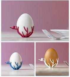 Bird's Nest Egg Cups