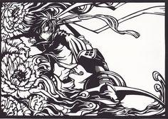 「幸村切り絵」/「森の妖精@マイピク募集中」のイラスト [pixiv]
