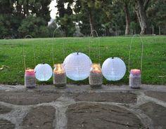 DIY Mason Jar Lanterns - Make Life Lovely