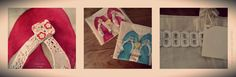 I made this Totebags for two young girls , they´re so happy. yes!