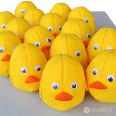 pulcini all'attacco  #handmade #cute #yellow #cip #chick