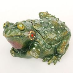 G Daniel Frog Trinket Box - I actually don't have