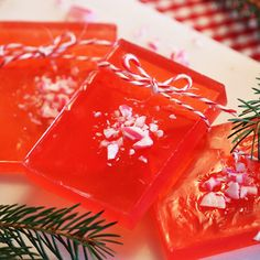 Christmas soap by DiySweden