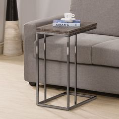 Accommodate your snack time shenanigans with the Coaster Furniture Weathered Grey Flip Top End Table . This clever C-table features a weathered wooden. Coaster Furniture, Table Furniture, Living Room Furniture, Home Furniture, Furniture Outlet, Online Furniture, Furniture Deals, Grey Furniture, Recycled Furniture