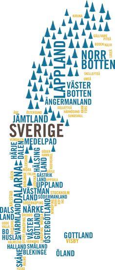 Sweden in a good way...