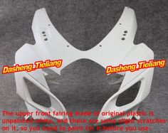 179.55$  Watch now - http://ali9c6.worldwells.pw/go.php?t=32402417435 - Unpainted Motorcycle Upper Front Fairing Cowl Nose Fits for Suzuki 2006 2007 GSXR 600 750 K6 ABS, Spare Part 179.55$