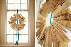 sheet music wreath.