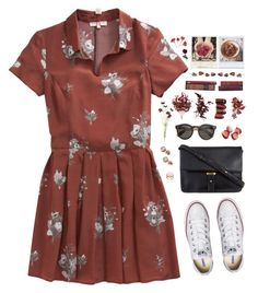 Pomegranate by skydancer18 on Polyvore featuring Opening Ceremony, Converse, ZALORA, London Road, Disney Couture, J.Crew, OKA, Pier 1 Imports, Polaroid and women's clothing