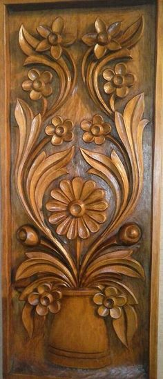 Wood carving I give for you what was promised, but better yet; I've established the list while in the get of the lowest price to the higher value variety! Front Door Design Wood, Wood Bed Design, Wooden Door Design, Dremel Wood Carving, Wood Carving Art, Wood Carving Designs, Wood Carving Patterns, Carved Wood Wall Art, Wood Art