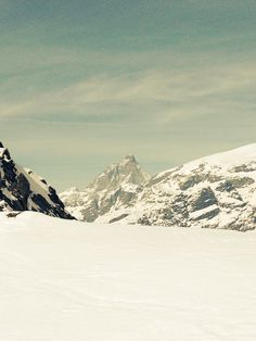 Matternhorn in the background. View from Champoluc