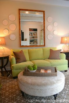 LUCY WILLIAMS INTERIOR DESIGN BLOG BEFORE AND AFTER PINEWOOD FAMILY ROOM