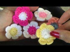 โครเชท์ดอกเดซี่ Daisy flower - YouTube Crochet Daisy, Crochet Flowers, Cosy, Crochet Necklace, Tea, Make It Yourself, Crocheted Flowers, Crochet Flower, Teas