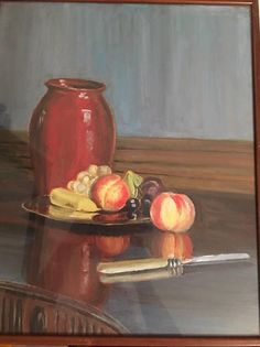 Reflections  still life by Lady Ruth Balfour #still life #Ruth Balfour #Balbirnie