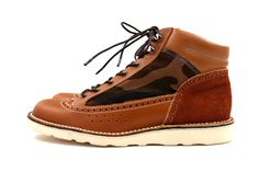 UNTOLD x CAUSE 2012 Fall/Winter Medallion Work Boot