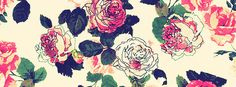 Simple Flower Painting Facebook Cover Photo | JUSTBESTCOVERS