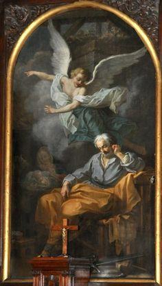 Versailles, Saint Joseph, Saint Louis, Angel Art, Cherub, Angels, Spirituality, Painting, Sacred Art