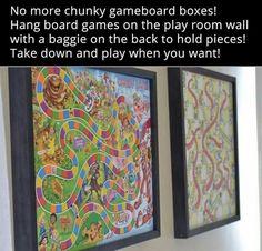 For basement playroom