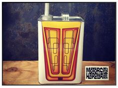 50's 60's and 70's Custom Stripe and Fade Paint Job Style Gas Can