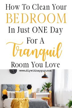 Declutter Bedroom, Declutter Home, Declutter Your Life, Organizing Your Home, Home Organization, Decluttering, Organized Bedroom, Organisation Ideas, Organising