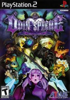 ODIN SPHERE – PLAYSTATION 2 $17.95 --> https://pyroflame.com/collections/rare-games/products/odin-sphere-playstation-2 #ecommerce #gaming #retrogaming #gamer #retro #gamersunite #geek #tech #ps2