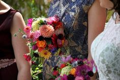 A DIY Wedding With Home Grown Flowers For A Florist Bride