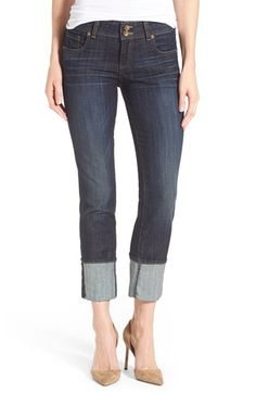KUT from the Kloth 'Cameron' Stretch Straight Leg Jeans (Serendipity) available at #Nordstrom