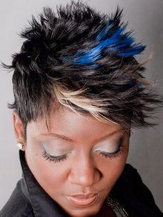 Stupendous Mohawks On Pinterest Short Hairstyles Gunalazisus