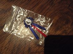Show ribbon $1 comes in any ribbon colours!