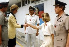 November 8, 1989 Diana opens the Hong Kong Red Cross Headquarters and watches first aid demonstrations