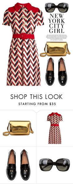 """Oct 31st (tfp) 2457"" by boxthoughts on Polyvore featuring Marni, Gucci, Bottega Veneta, H&M and tfp"