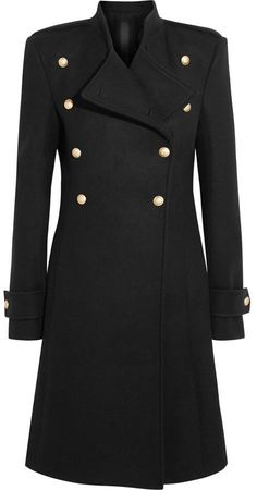 Shop for Double-breasted Wool Coat - Black by Gareth Pugh at ShopStyle. Black Women Fashion, Womens Fashion, Fashion Trends, Fashion Ideas, Fashion Beauty, Hobbs Coat, Princesa Kate, Fashion Story, Coat Dress