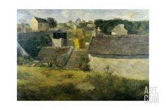 Houses at Vaugirard, 1880 Giclée, Paul Gauguin