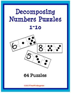 Decomposing Number Puzzles 1-10